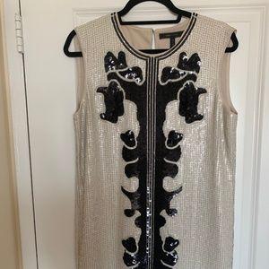 BCBG Retro Sequin Dress